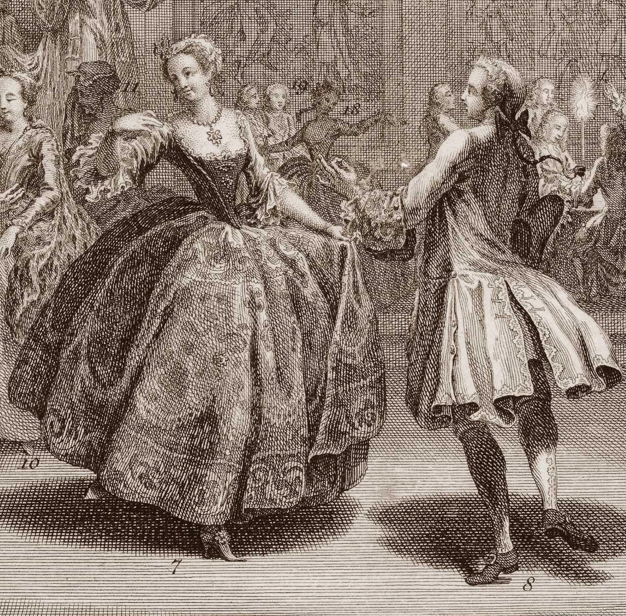 Jaymes Welt der Contredanses 1717 | earlydance.org
